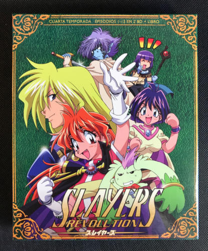 Slayers Revolution. BD. Selecta-Visión (2018)