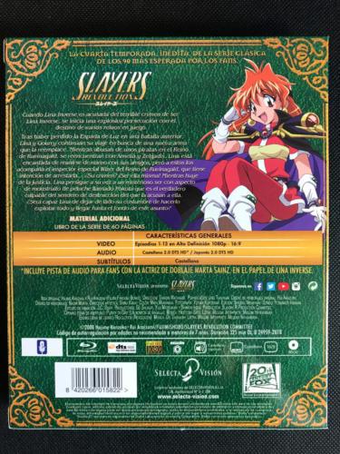 Slayers Revolution - Caja Trasera Superior