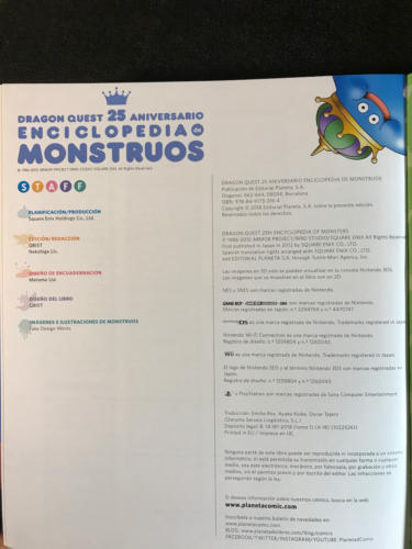DQuest 25º Enc.Monstruos - Créditos