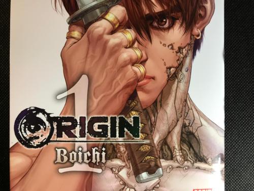 Origin - Detalle Portada