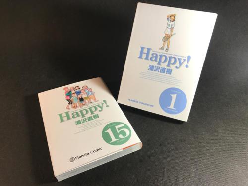 Happy! - Portadas 1 y 15
