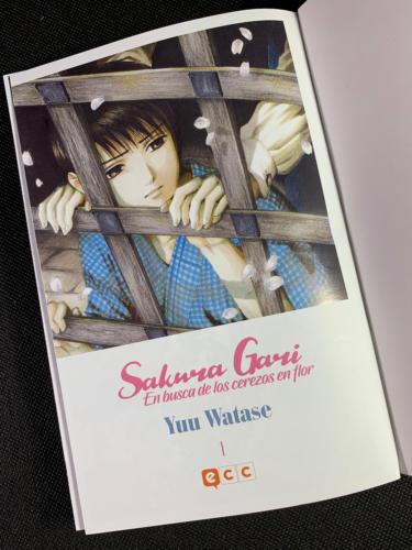 Sakura Gari - Portadilla Principal a Color