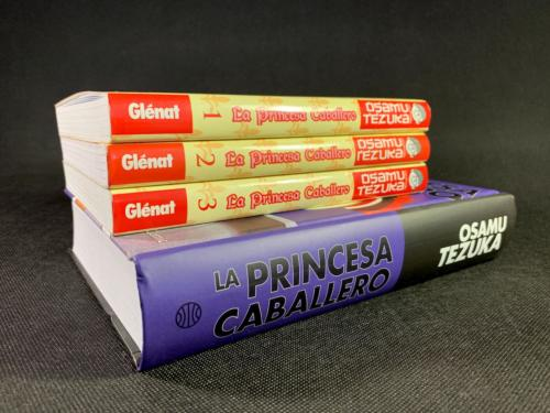 La Princesa Caballero -Comparativa Glénat - Planeta Cómic