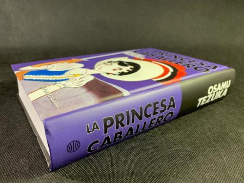 La Princesa Caballero - Lomo - Planeta Cómic