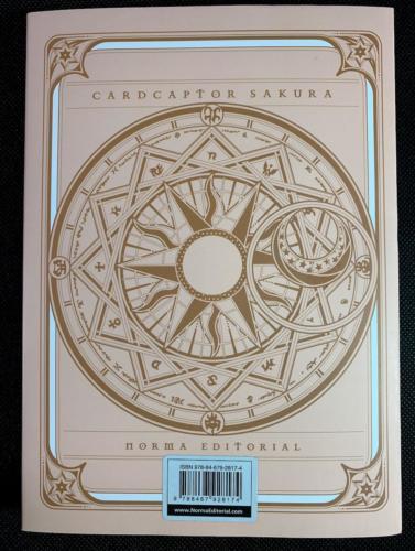CardCaptor Sakura - Sin Sobrecubierta Trasera