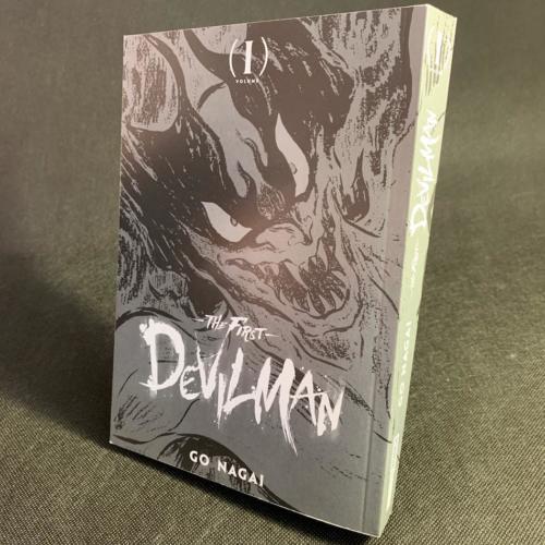 Devilman The First - Portada sin Sobrecubierta