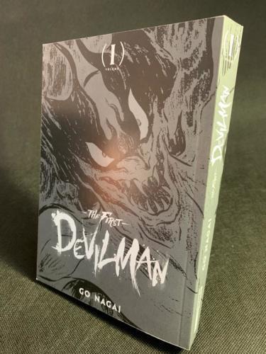 Devilman The First - Portada sin Sobrecubierta 2