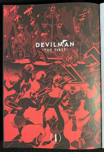 Devilman The First - Portadilla Principal