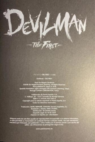 Devilman The First - Créditos