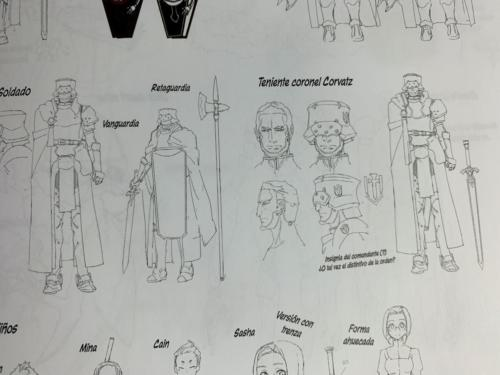 SAO: abec Art Works - Detalle Model Sheet 1