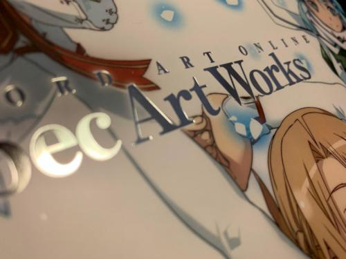 SAO: abec Art Works - Detalle Serigrafía 2